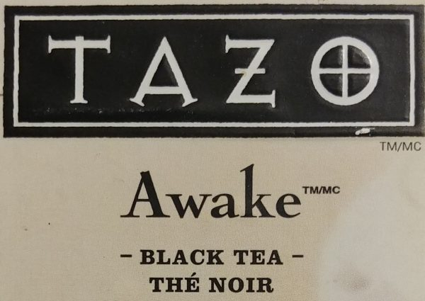 Tazo Awake Tin Logo