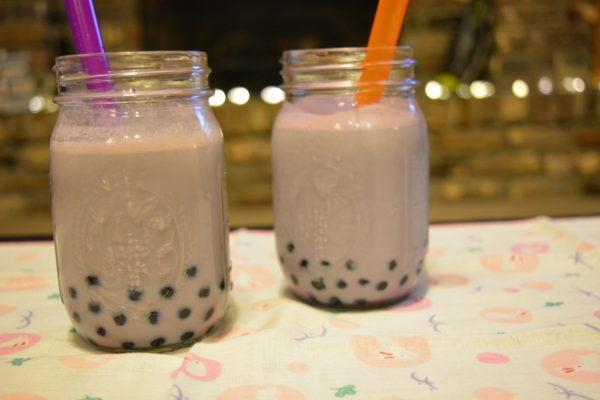 Taro Milk Tea with Tapioca Pearls © Heart of Pixie