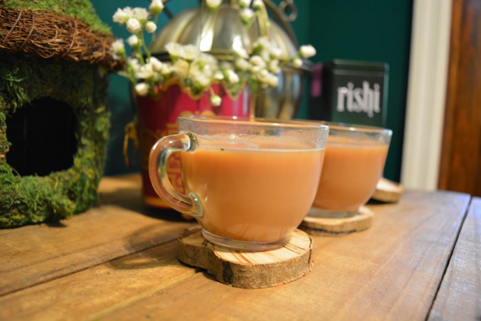 Rishi Vanilla Mint Chai Brewed © Heart of Pixie