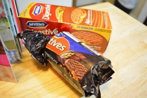Two McVitie's Digestive Biscuits