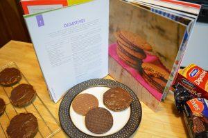 Three Different Digestive Biscuits