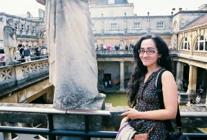 Yours Truly at the Roman Baths by Heart of Pixie