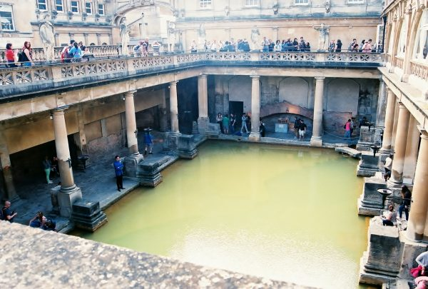 Roman Baths by Heart of Pixie