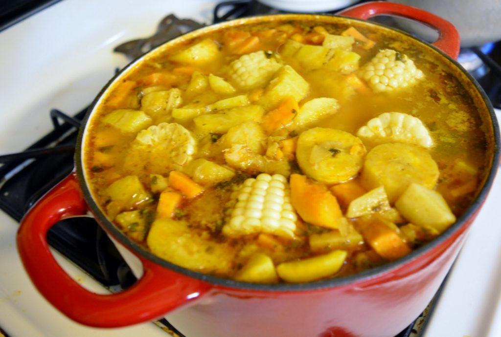 Pot of sancocho by Heart of Pixie