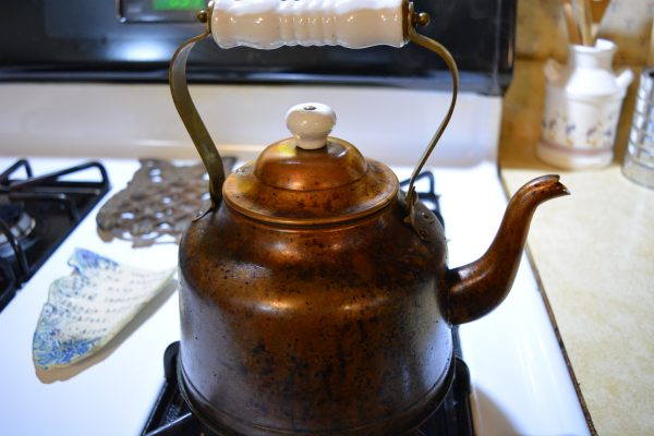My Copper Tea Kettle