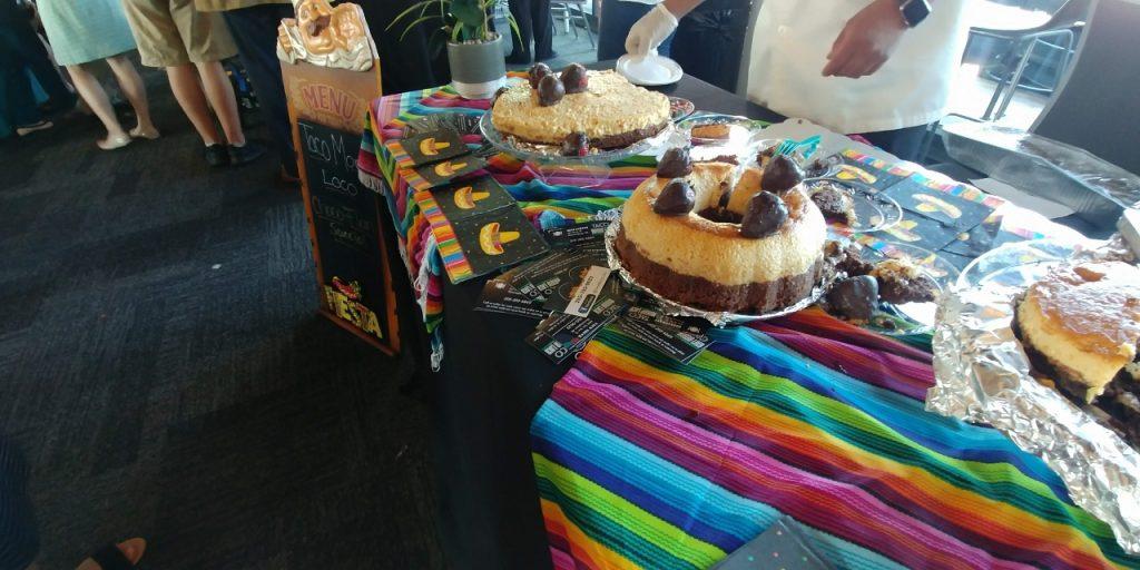 Taco Morro Loco's Chocolate Flan