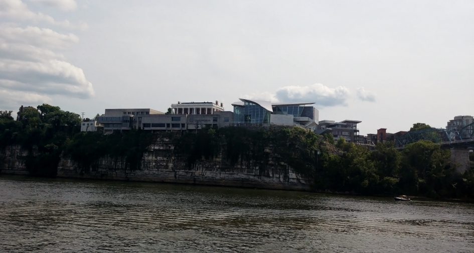 Hunter Museum of American Art from River by Heart of Pixie
