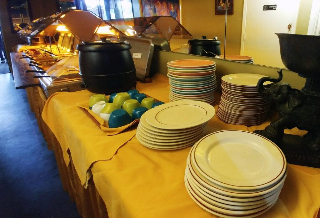 Taj India Buffet with Plates by Heart of Pixie